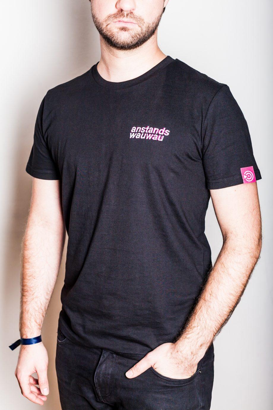 Schwanz&Ehrlich - anstandswauwau - T-Shirt